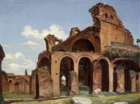 antike römische ruinen by michael neher