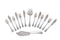 fish cutlery (set of 14) by franz bahner (co.)