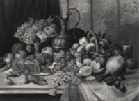 früchtestilleben mit hummer by hypollite fournier