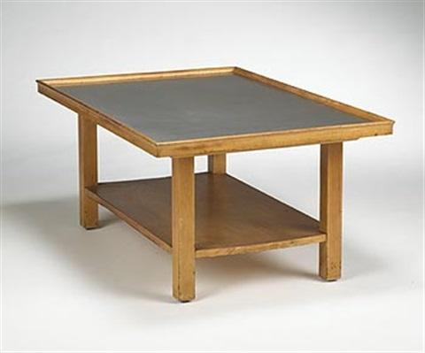 coffee table model e 17 by j robert swanson pipsan swanson saarinen and eliel saarinen