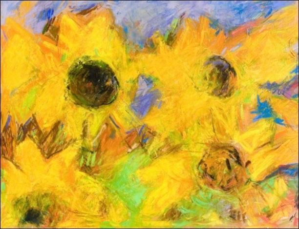 auringonkukkia by rafael wardi
