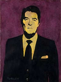 ronald regan by martin torsloff