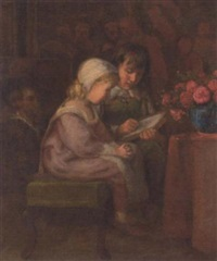 the reading lesson by henry hetherington emmerson