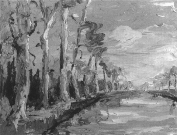 modern landscape by dorothy arnold