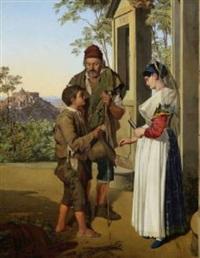 barmherzige gabe einer jungen italienerin by michael neher