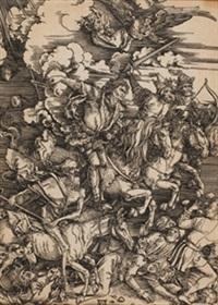 los cuatro jinetes del apocalispsis by albrecht dürer