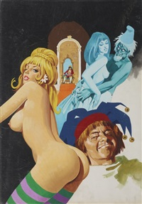 couverture de sexy favole by dino leonetti