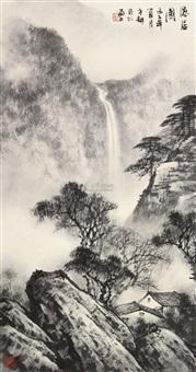 隐居图 by tang binggeng