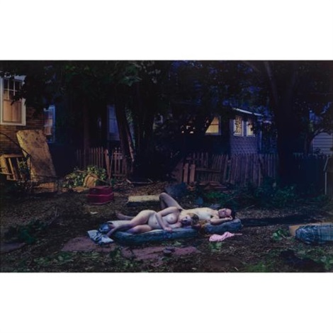 untitled summer 2004 backyard romance by gregory crewdson