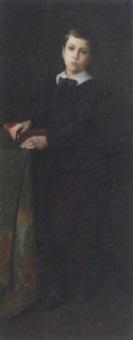 portrait of a boy by lucien foller