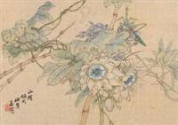 花卉 by ren bonian