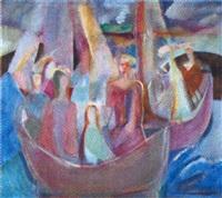 båter i skjærgården by thorstein rittun