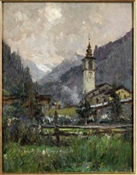 gressoney la trinité by lidio ajmone