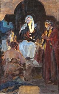 jézus születése by laszlo hegedus