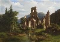 klosterruine allerheiligen im schwarzwald by adolf rudolf holzhalb