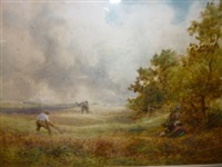 cutting the hay by william manners