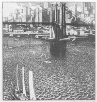 the brooklyn bridge by rudolph ruzicka