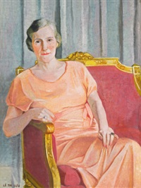 portrait de madame gouverneur général (portrait of madame governor general) by le thi luu