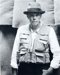 portrait joseph beuys by jean kaflina