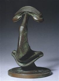 bildnis des kunsthändlers alfred flechtheim by rudolf belling