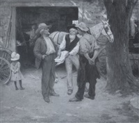 a political discussion by frank o. small
