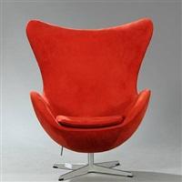 the egg chair (model 3316) by arne jacobsen