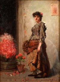 a flower girl by a.d. bastin