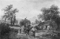 returning from the fields by albert dunnington
