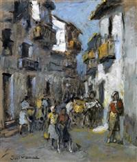 calle de pueblo by josé maría labrador arjona