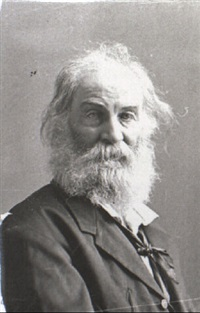 portrait of walt whitman by jeremiah gurney