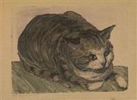 cat by elizaveta sergeevna kruglikova