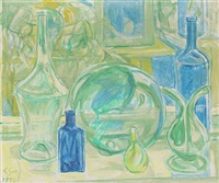 still life with vases by christine swane