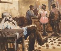 bar scene by vladimir pavlosky