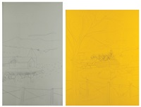 untitled (diptych) by ohad meromi