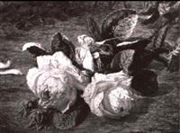stilleben mit der rose by simon saint-jean