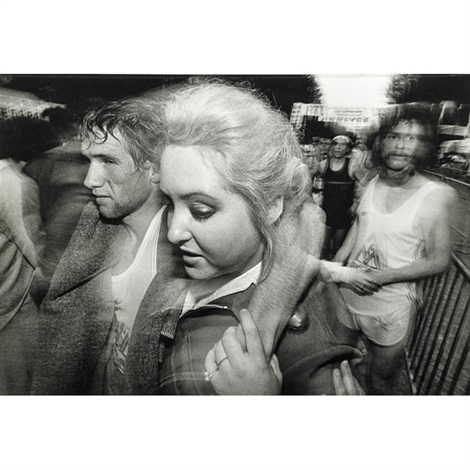 arrival marathon paris by william klein