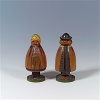 paar spielzeugfiguren by ferdinand andri