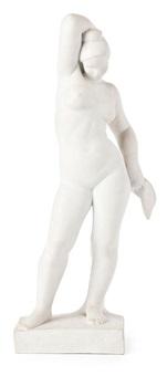 joven desnuda de pie by luisa granero
