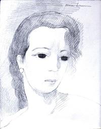 visage by marie laurencin