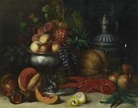 früchtestillleben mit hummer by joseph correggio