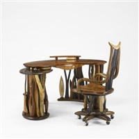 desk and chair by steven spiro