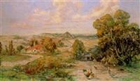 missouri orchard country, near clarksville by joseph adamek