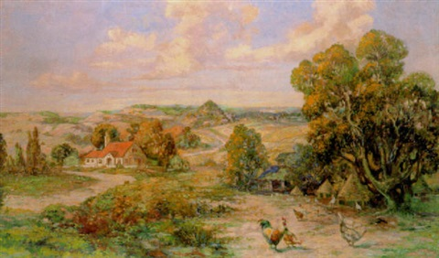 missouri orchard country near clarksville by joseph adamek