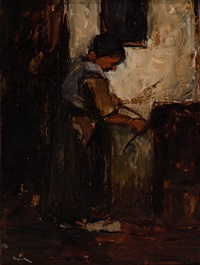 lighting the stove by suze bisschop-robertson