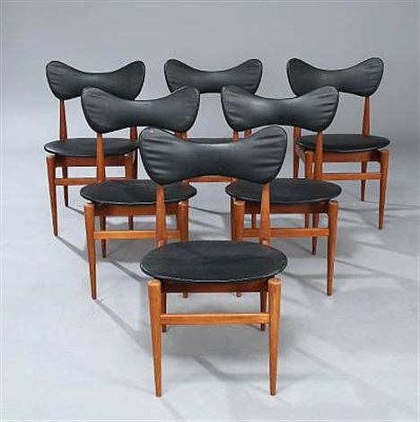 butterfly chair set of 6 by inge and lucio rubino