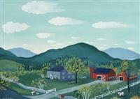 folk art farm by maxwell mays
