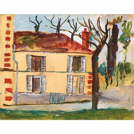 la maison by maurice utrillo