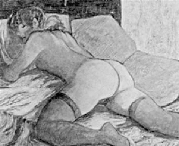 desnudo de mujer by celedonio perellon
