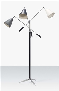 triennale floor lamp by gino sarfatti