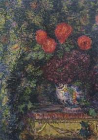 vaso con fiori by enrico della (lionne) leonessa